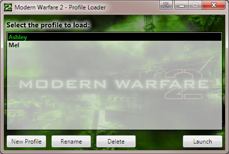 Modern Warfare 2 Launcher